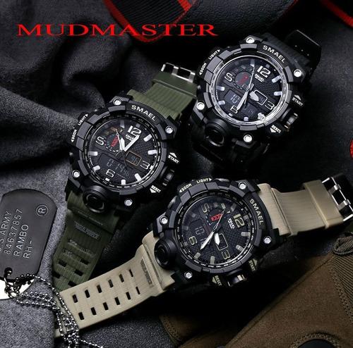 reloj smael s shock rango militar táctico sumergible 5atm