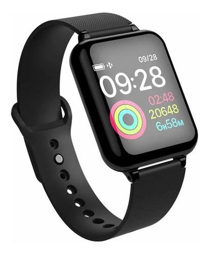 reloj smart b57 agua distancia notificaciones pulso watsapp