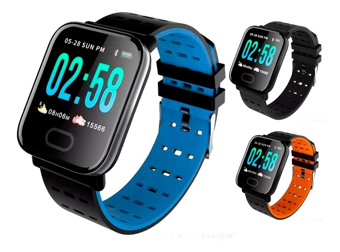Reloj Smart Band Deportivo Wear Fit Resiste Agua Pulsera