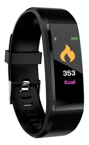 reloj smart band id115hr + plus cardio reloj fitness tracker