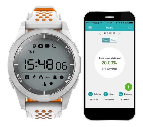 reloj smart sumergible. notifica llamadas, mensajes y mas !!