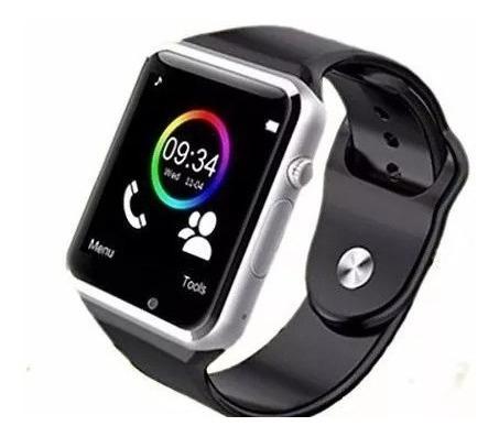 reloj smart watch  42mm ultra delgado correa  silicoflex