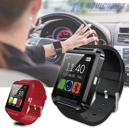 reloj smart watch bluetooth u8 para android samsung, sony