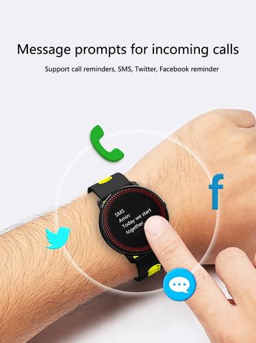 reloj smart watch cardíaca pasos oxigeno sanguinea