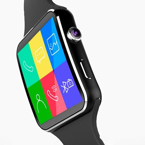 reloj smart watch celular tactil x6 gt08 u8 cámara bluetooth
