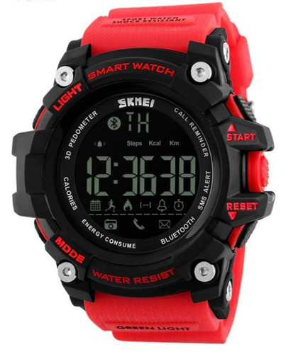 reloj smart watch con bluetooth marca skmei. envio gratis