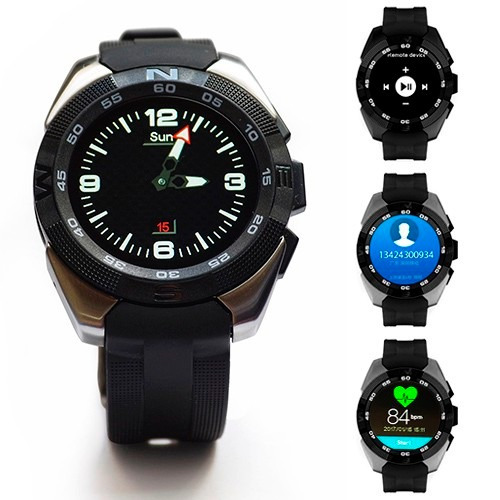 reloj smart watch g5 monitor ritmo cardiaco iphone android