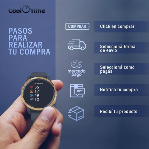 reloj smart watch gps pacer john l. cook