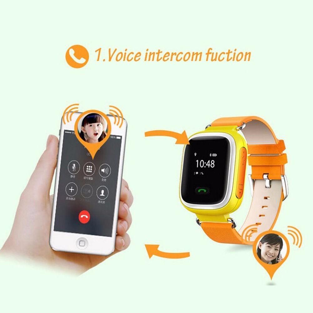 Reloj smart watch gps para ni os y ni as localizador - Localizador gps ninos ...