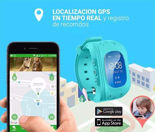 reloj smart watch kids niños rastreador gps localizador