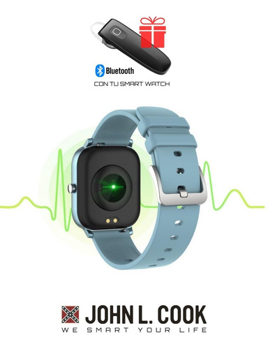 reloj smart watch malibu john l. cook