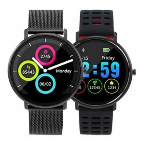 reloj smart watch mistral smt-l6m-01 - viene con 2 mallas