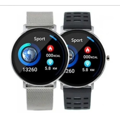 reloj smart watch mistral smt-l6m-08 - viene con 2 mallas