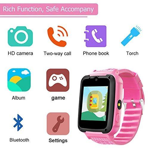 Reloj Smart Watch Para Niños Con Tarjeta Sim Gratis Para Ni ...