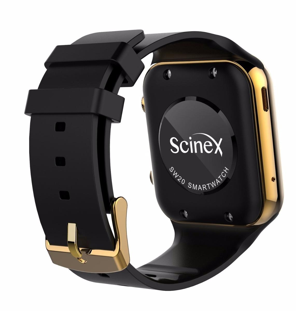 Reloj smart watch scinex sw20 color oro negro 3 for Portent g3 sw 12