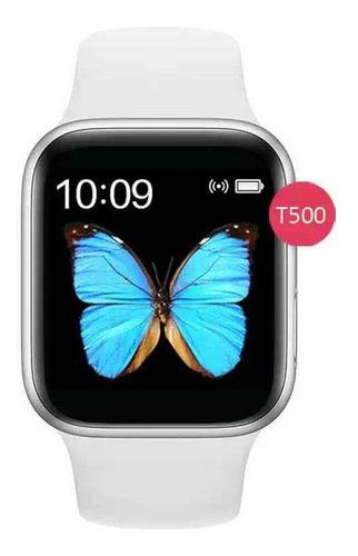 reloj smart watch t500 serie 5 ultimno color negro