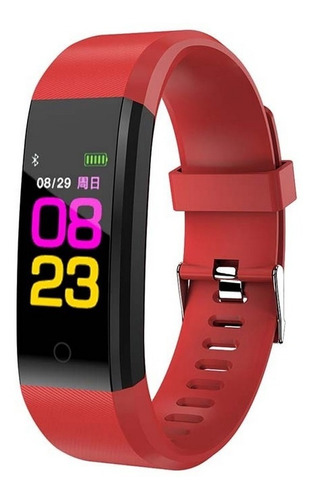 reloj smartband id115 pulsera inteligente fit deporte watch