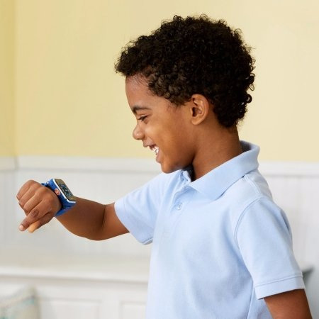 reloj smartwatch 2 camaras niños kidizoom dx2 vtech azul