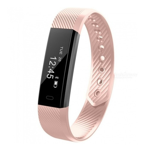 reloj smartwatch android smart band fit band id115 2019