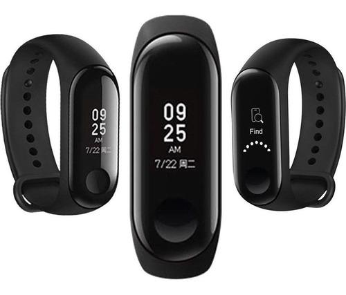 reloj smartwatch banda inteligente xiaomi mi band 3 negro