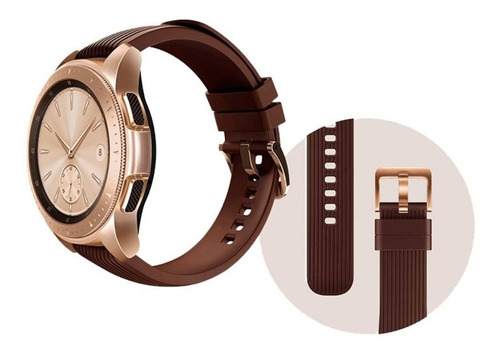 reloj smartwatch bluetooth galaxy watch 42mm dorado samsung