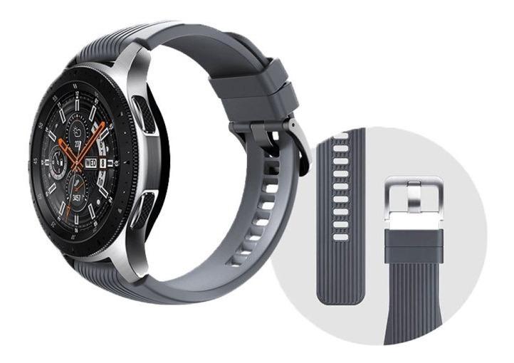 Reloj Watch Samsung Smartwatch Bluetooth Plata 46mm Galaxy b7yYgf6