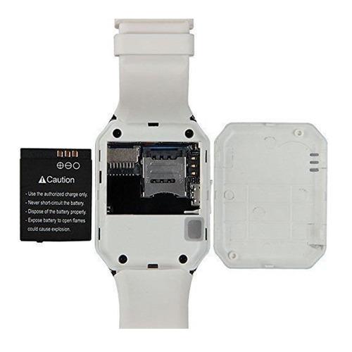 reloj smartwatch dz09 (sim, cámara, bluetooth, wapp, fbook)