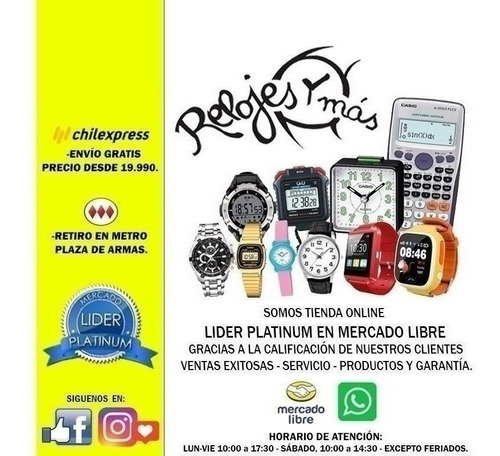 reloj smartwatch ex18 pasómetro colores surtidos/relojesymas