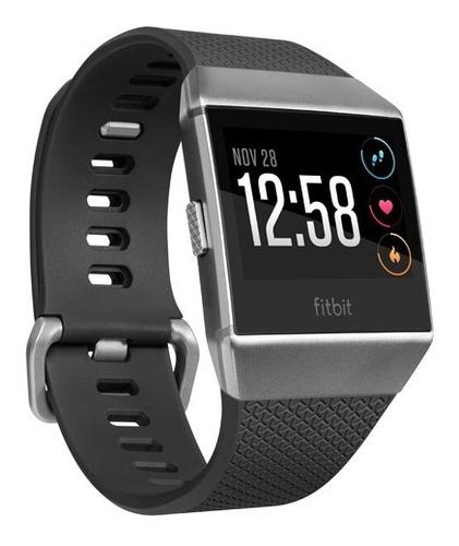 reloj smartwatch fitbit ionic gris oscuro