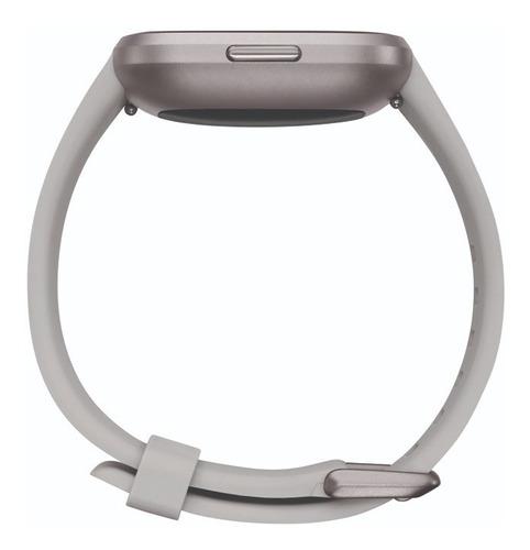 reloj smartwatch fitbit versa 2 con nfc gris