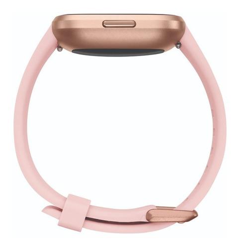 reloj smartwatch fitbit versa 2 con nfc rosa