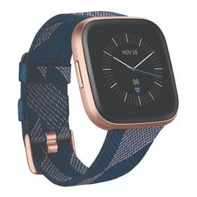 Reloj Smartwatch Fitbit Versa 2 Special Edition Azul + Rosa