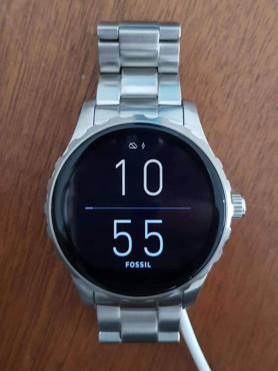 6c67e7e399d6 reloj smartwatch fossil q marshall hombre gris trato 9.5 10. Cargando zoom.