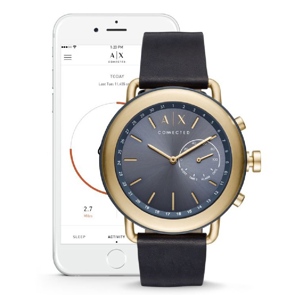 49568cd6a109 reloj smartwatch hibrido armani exchange axt1023. Cargando zoom.