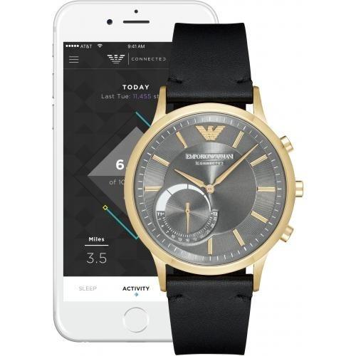 reloj smartwatch hibrido emporio armani art3006 nuevo envio