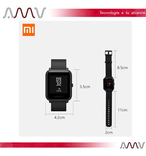 reloj smartwatch huami xioami amazfit bip lite frec card amv