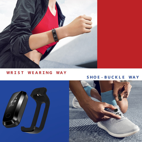 reloj smartwatch huawei honor band 4 para deportes