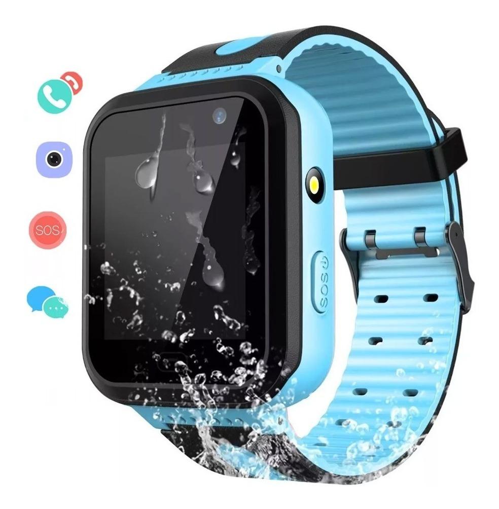 proporcionar una gran selección de zapatillas de deporte para baratas marca famosa Reloj Smartwatch Kids Niños Rastreador Camara Gps Llamada