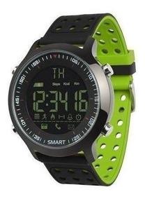 Reloj Smartwatch Leotec Hardy Life Verde Bt Ip67 Ios Lesw11g