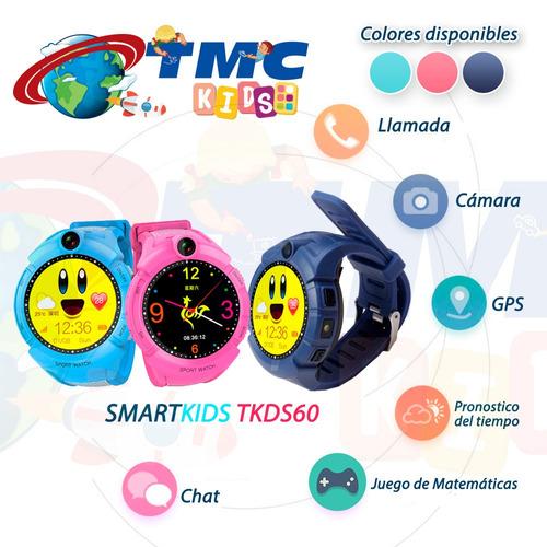 reloj smartwatch localizador niños gps tiempo real