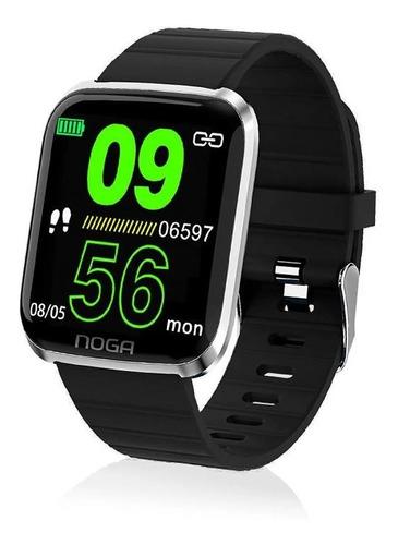 reloj smartwatch noga sw03 mide oxigeno presion freccard wsp