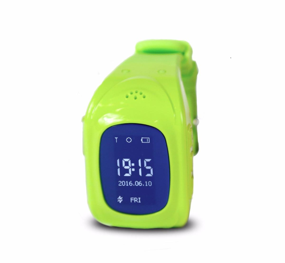 Reloj Smartwatch Para Niños Con Rastreador Gps Llamada Sos ...