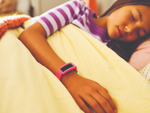 reloj smartwatch para niños fitbit ace 2 sandía + verde