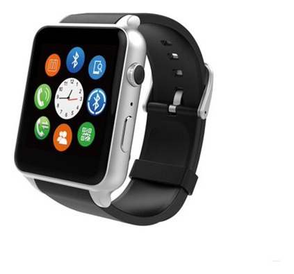 reloj smartwatch pulse p220 plateado - tecsys