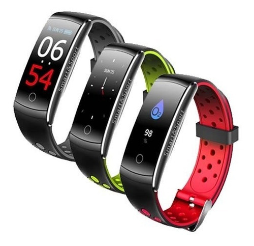 reloj smartwatch q8s color cardio presion km pasos calorías