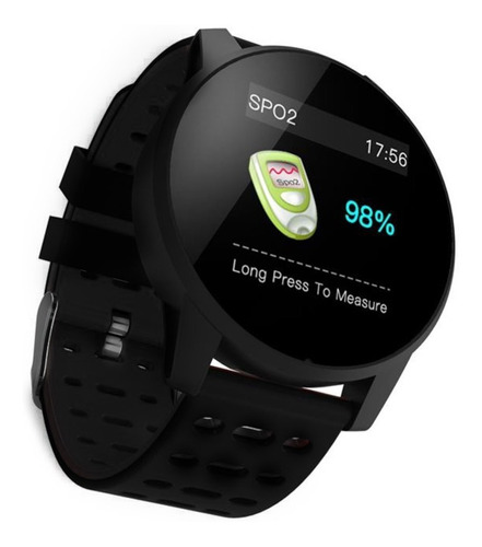 reloj smartwatch smart stone ky108 negro