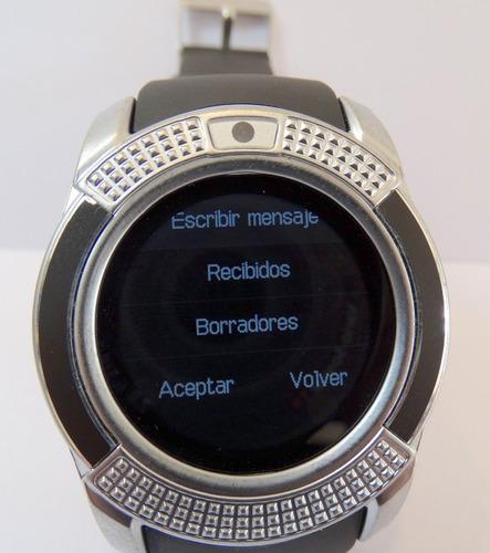 reloj smartwatch triumph  bluetooth android ios garantia ofi