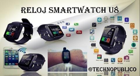 cc4b4481a16 Reloj Smartwatch U8 - Bs. 150.000,00 en Mercado Libre