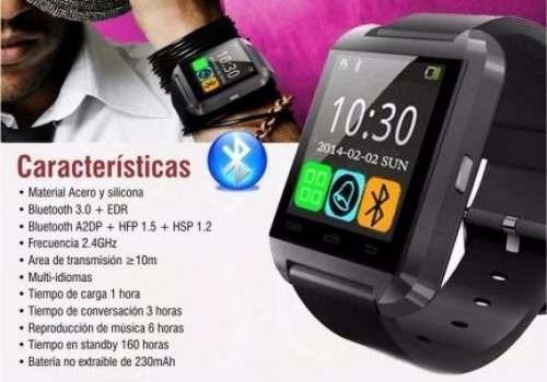 d24540c4f4f Reloj Smartwatch U8 Android Con Garantia - $ 359,00 en Mercado Libre