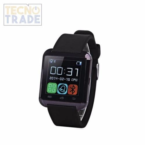 reloj smartwatch u8 cámara bluetooth notificación música
